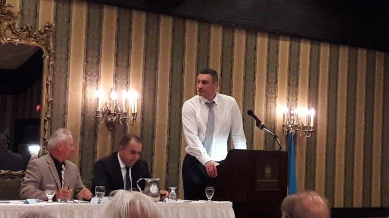 Виталий Кличко в Торонто