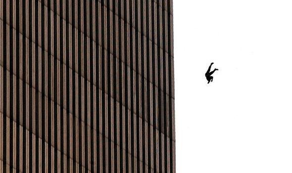 9-11 falling man