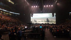 Перед концертом Roger Waters / Us + Them