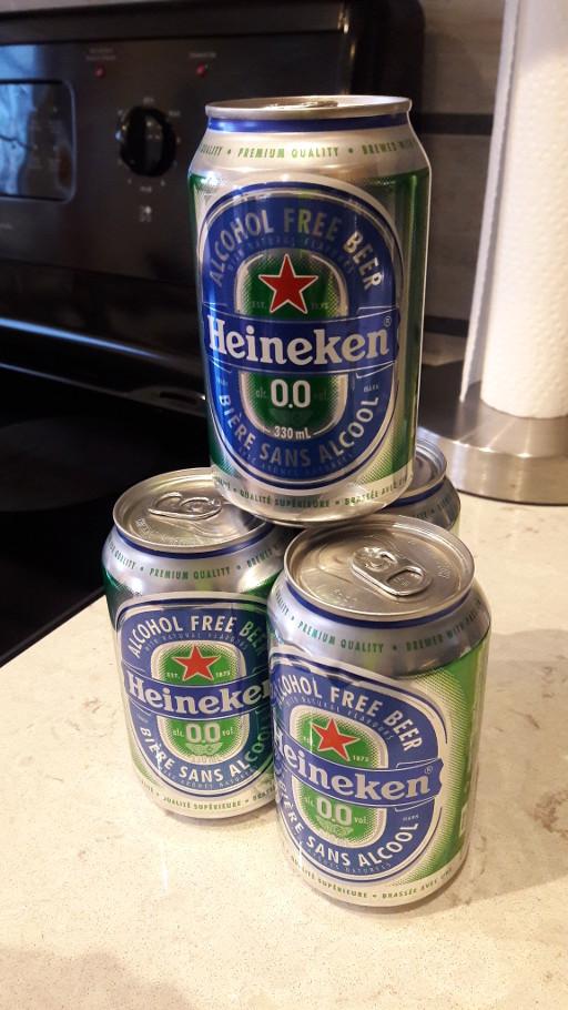 Heineken alcohol free beer