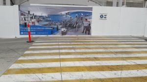 Ещё один мексиканский пешеходный переход. Аэропорт SJD
