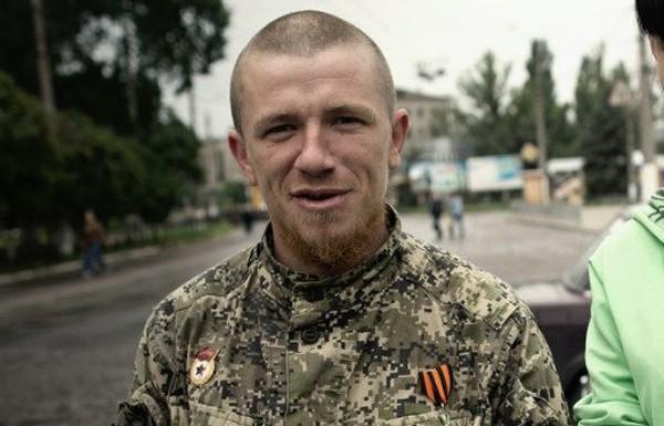 Российский боевик Моторола в Донецке